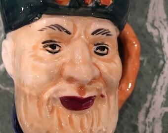 Vintage Mini Toby Head Mug
