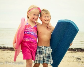 Beach Bum Bermuda Shorts: Girls Shorts PDF Pattern, Boys Shorts PDF Pattern, Baby & Toddler Shorts PDF Pattern