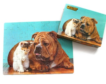 """Vintage """"Little Charmers"""" 63 Piece Jigsaw Puzzle by Golden 1985"""