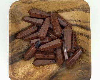 Mahogany Obsidian Double Terminated Point - Mahogany Obsidian Point - Root Chakra - Balance - Energy Healing - Reiki