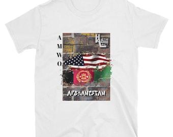 AMWO T-shirt - USA/Afghanistan