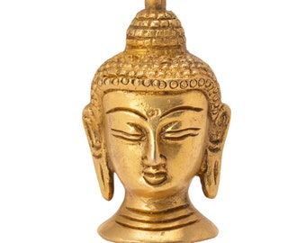 Decorative showpiece of buddha face handicrafts product by Vyomshop™BH06046