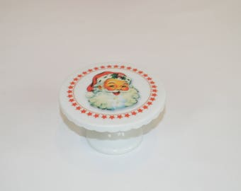 "3"" Cupcake Stand (shown with image #  x78- Santa)"