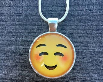 emoticon necklace