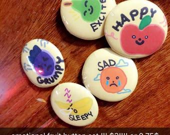 Fruit Buttons