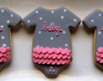 Baby Shower cookies 3 dozen
