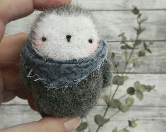 FLUFFY OWLET crochet pattern