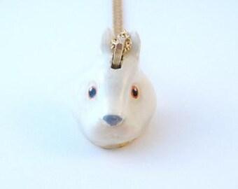 Woodland Rabbit Necklace