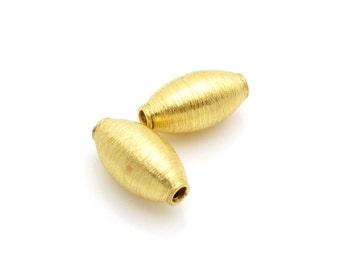 1 Pc, 11.5mm, 24k Gold Vermeil Bead