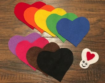 Felt Board Story - Love Bug Seek and Find - Valentine's Day