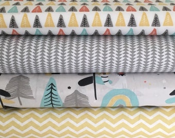Bears in the woods collection- fat quarter bundle