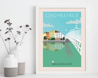 Dublin - Tourism Poster