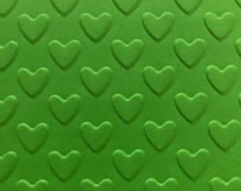 heart embossing die folder DIY homemade