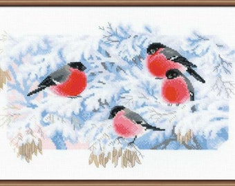 Frosty Morning - Cross Stitch Kit from RIOLIS Ref. no.:1388