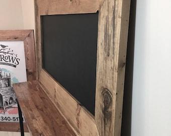XL Distressed Wood Chalkboard