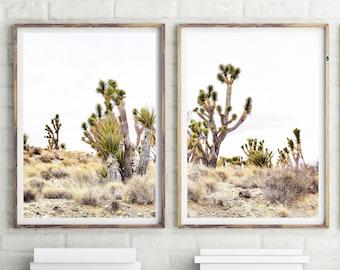 Set of 2 Joshua Tree Photography, Joshua Tree Print, Desert Print, Printable California Wall Art, Desert Decor, California Print, #384