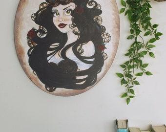 Bianca Acrylic on Canvas