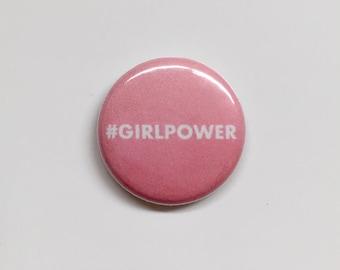 Girl Power Button