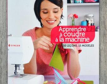 NEW - Book learn sewing machine