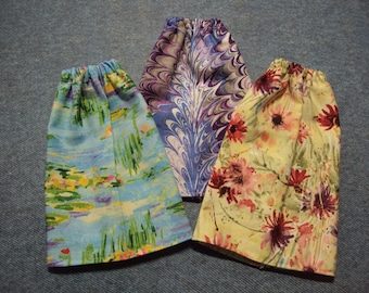"Artist Themed Skirt for Barbie Dolls ~ Clothes for 11 1/2"" Fashion Dolls"