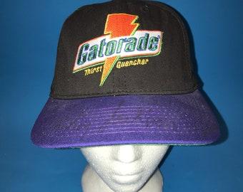Vintage Gatorade Snapback Hat Adjustable 1990s