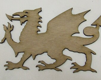 Dragon Wood Cut Out - Laser Cut