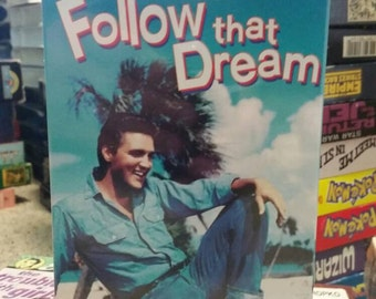 Elvis Presley Unopened VHS- Follow That Dream- Musical Rock n' Roll