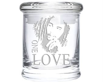 One Love Stash Jar