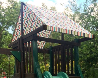 Playset Canopy Cover, Swingset Canopy