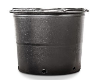 7 GALLON PLASTIC POTS: 6 Count