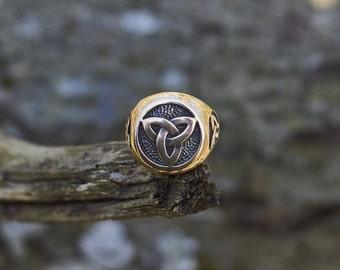 Mens celtic ring Etsy