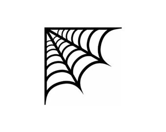 Spider Web Decal | Spider Web Sticker | Spider Web Decorations | Spider Web Decor |