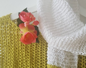 Handmade sweater; pullover handmade; knit light sweater; knit sweater; pullover knit handmade