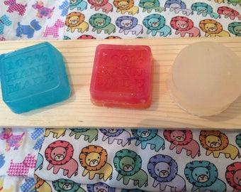Set of three soaps