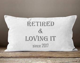 Retirement Gift Women | Retirement Gifts | Gift for Coworker |  Pillow | Retirement Gifts For Coworkers | Women's Retirement Gifts | Gifts