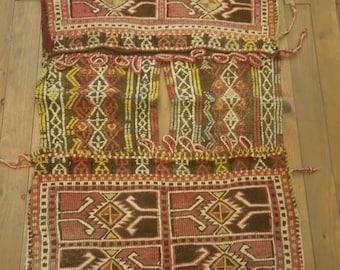 Etsy's 13th Birthday Sales Anatolian kilim saddlebag