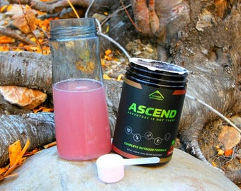 Ascend Kiwi Strawberry Pre-Workout with BCAA's