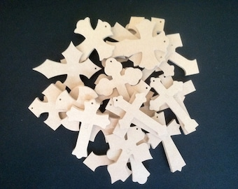 "Bag of Crosses,  2 1/2"" x 4"" x 1/4 "". We pick the style and you save, Comes in 25 to 500 a bag, Free shipping, BC020425-X-2"