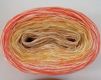 CITRUS MEDLEY --mega-- Color Changing Cotton yarn  865 yards/180 gr  Fingering Weight