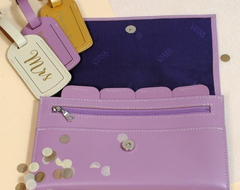Undercover Pastel Real Leather Travel Organiser