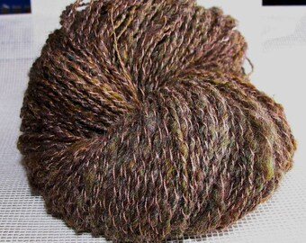 Hand Spun Yarn -Pathway Woodlands