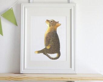 Moon Cat illustration