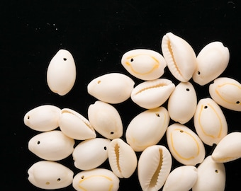 14-20mm Cowrie Shell Beads sold per 130g
