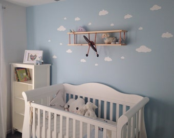 Cloud Wall stickers / Wall decor / Decals / Removable / nursery decor