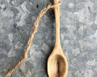 Sassafras Wood Spoon Pendant