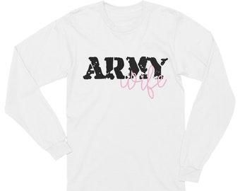 Army Wife Long Sleeve T-Shirt