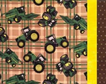 Pillowcase Kit - John Deere tractor