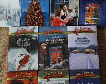 10 Love Inspired Christmas Classic books