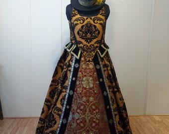Handmade Ladies Renaissance Gown Costume