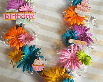 Flower Lei/ Necklace/ Candy Lei/ Birthday/ Party Favor